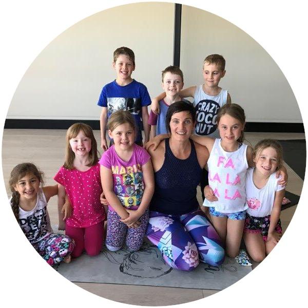 Happy Kids practicing Yoga at 432